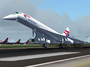 Concorde touches down after a 3 hour champagne ride