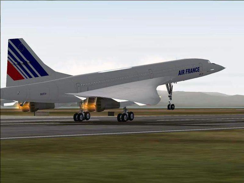 Blackbox Simulation Concorde Professional